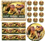 DINOSAURS Ice Age T REX Edible Cake Topper Frosting Sheet - All Sizes!