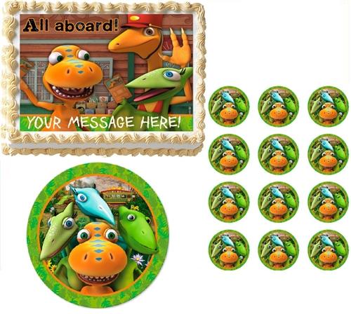 Dinosaur Train Edible Cake Topper Frosting Sheet - All Sizes!