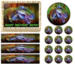 DINOSAURS T REX Edible Cake Topper Frosting Sheet - All Sizes!