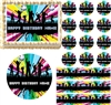 Retro DISCO DANCE Let's Dance Edible Cake Topper Image Frosting Sheet Groovy