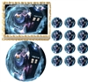 Doctor Who TARDIS Vortex Edible Cake Topper Frosting Sheet - All Sizes!