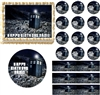 Doctor Who TARDIS Space Edible Cake Topper Image Frosting Sheet Tardis Dr Who