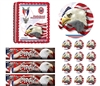 Eagle Scout Ceremony Court of Honor Be Prepared Edible Cake Topper Frosting Sheet - All Sizes!