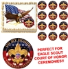 Eagle Scout ON MY HONOR Court of Honor Ceremony Edible Cake Topper Image-All Sizes