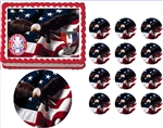 Eagle Scout Court of Honor Ceremony Centennial Patch Edible Cake Topper Frosting Sheet - All Sizes!