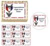 Eagle Scout Court of Honor Scout Law Edible Cake Topper Image Cupcakes Strips