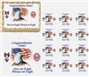 Eagle Scout Court of Honor Edible Cake Topper Image, Eagle Flag Cake, Eagle Scout Cake, Eagle Scout Cupcakes, Court of Honor Cake, Boy Scout