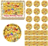 Emoji Collage Edible Cake Topper Image Cake Decoration Smiley Emojies Cake