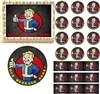 FALLOUT 4 VAULT BOY Gaming Edible Cake Topper Image Frosting Sheet - All Sizes!