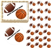Sports Football Basketball Edible Cake Topper Image Frosting Sheet