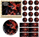 FIVE NIGHTS AT FREDDY'S FOXY FOX Edible Cake Topper Image Frosting Sheet Cake Decoration