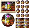 FIVE NIGHTS AT FREDDY'S Up Close Edible Cake Topper Image Frosting Sheet NEW