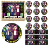 Five Nights at Candy's FNAC EDIBLE Cake Topper Image Cupcakes Cake Decoration