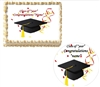 GRADUATION Class of Edible Cake Topper Image Frosting Sheet Graduation NEW
