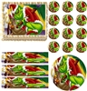 GRINCH CHRISTMAS Party Edible Cake Topper Frosting Sheet-All Sizes! NEW! Holiday
