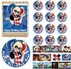 Suicide Squad Harley Quinn Class Clown Edible Cake Topper Image Cake Decoration