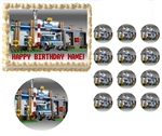 Lego Police City Rescue Vehicles Edible Cake Topper Frosting Sheet - All Sizes!