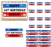 LICENSE PLATE 16th Birthday Teen Edible Cake Topper Image Frosting Sheet - All Sizes!