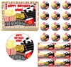 MOVIE AND POPCORN NIGHT Party Edible Cake Topper Image Frosting Sheet - All Sizes!