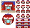 Retro MOVIE THEATER Movie Night Edible Cake Topper Image Frosting Sheet - All Sizes!