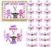 Girl Ninja Edible Cake Topper Image Frosting Sheet Cake Decoration Ninja Party