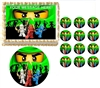 Ninjago Green Ninja Ninjago Edible Cake Topper Frosting Sheet - All Sizes!