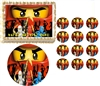 Ninjago RED Ninja Ninjago Edible Cake Topper Frosting Sheet - All Sizes!