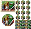 Ninjago All Characters Ninjas Edible Cake Topper Frosting Sheet - All Sizes!