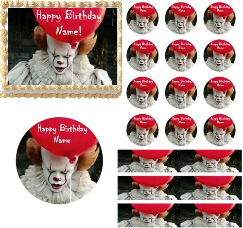 Clown Birthday Cake Designs