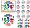 PJ MASKS Party Edible Cake Topper Image Frosting Sheet Cake Cupcakes NEW!