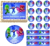 Flying PJ MASKS Edible Cake Topper Image Frosting Sheet Cake Cupcakes NEW
