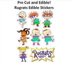 Pre Cut Rugrats Characters Edible Cake Cupcake Stickers Decals