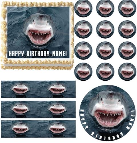 recipe: shark cupcake topper [38]
