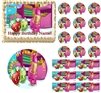 SHOPKINS Cute Edible Cake Topper Image Frosting Sheet Shopkins Birthday NEW!
