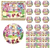 Cute SHOPKINS SHOPPIES Edible Cake Topper Image Frosting Sheet Decoration NEW!