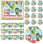 SUPER WHY Birthday Party Edible Cake Topper Frosting Sheet - All Sizes!