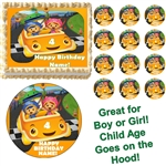 Team Umizoomi and Car Party Edible Cake Topper Frosting Sheet - All Sizes!