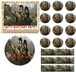 WALKING DEAD Cast Season 6 Edible Cake Topper Frosting Sheet - All Sizes!