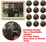 Walking Dead DARYL DIXON RICK GRIMES Edible Cake Topper Frosting Sheet-All Sizes