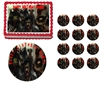 Zombies Walking Dead Zombie Party Edible Cake Topper Frosting Sheet - All Sizes!