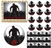 ZOMBIE SILHOUETTE Zombies Edible Cake Topper Image Frosting Sheet Cupcakes NEW!