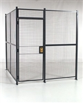 Wire Partitions and Security Enclosures