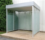 Deluxe Smoking Shelter -  Bus Stop