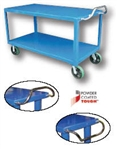 "2 Shelf Unit/22"" shelf height with Casters 4000 Pound Capacity"