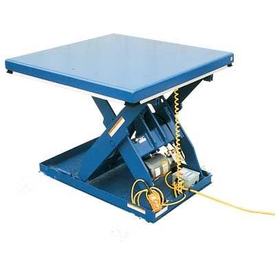 Vestil Electric Hydraulic Scissor Lift Tables Platform