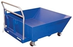 Low Profile Parts Hopper - Rolls and Forklift Pockets