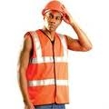 Occulux Class 2 Hi-Viz Value Safety Vest - Solid Yellow and Orange