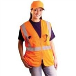 Occulux Class 2 Hi-Viz Value Safety Vest - Mesh Yellow and Orange