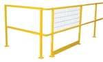 Steel Square Safety Rails