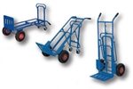 Four Wheel Multi-Position Steel Hand Truck, 400 LBS Capacity